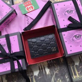 Gucci Signature Card Case Black 522869