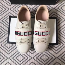 Gucci Ace Sneaker With Stripe White