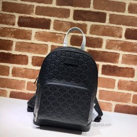 Gucci Signature Leather Backpack Black 450967