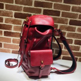 Gucci Re(Belle) Leather Backpack Red 526908