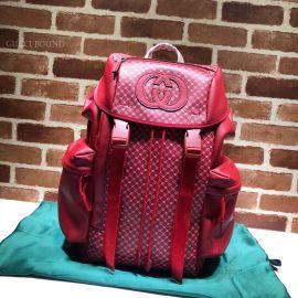 Gucci Dapper Dan Backpack Red 536413