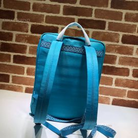 Gucci Medium Backpack With Gucci 80S Patch Blue 536724