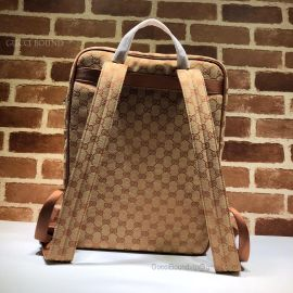 Gucci Medium Backpack With NY Yankees Patch Brown 536724