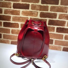Gucci Medium Bucket Backpack Red 550189