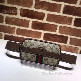 Gucci Ophidia GG Supreme Belted Iphone Case Brown 519308