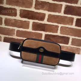 Gucci Ophidia Suede Belted Iphone Case Brown 519308