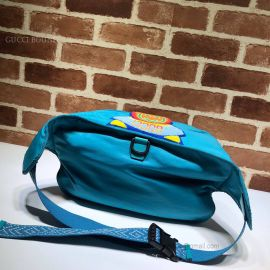 Gucci Belt Bag With Gucci '80S Patch Blue 536842