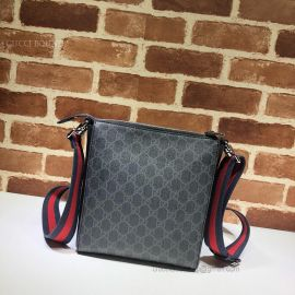 Gucci GG Supreme Small Messenger Bag Black 523599