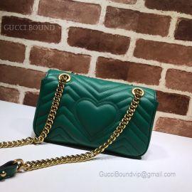 Gucci GG Marmont Matelasse Mini Bag Green 446744