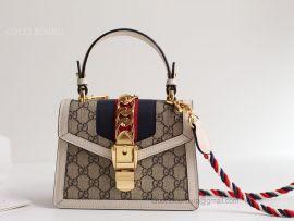 Gucci Sylvie GG Mini Bag White 470270