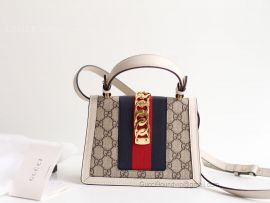 Gucci Sylvie GG Mini Bag White 470270