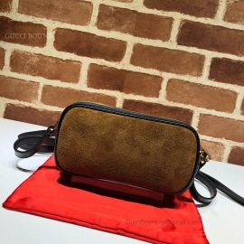 Gucci Ophidia Suede Mini Bag Chestnut 546597