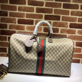 Gucci Ophidia GG Large Carry-On Duffle Brown 547959