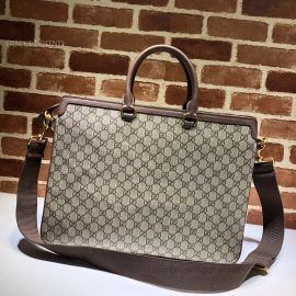 Gucci Ophidia GG Briefcase Brown 547970