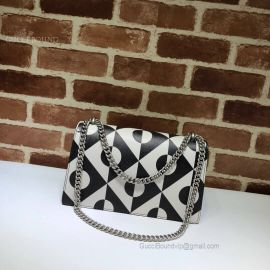 Gucci Dionysus Small Shoulder Bag Black And White 400249