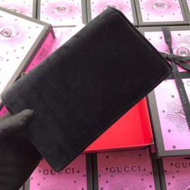 Gucci Dionysus Velvet Shoulder Bag Black 476430
