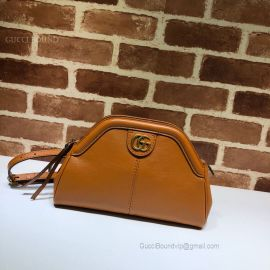 Gucci Re(Belle) Small Shoulder Bag Brown 524620