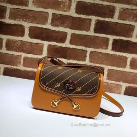 Gucci Rajah Small Shoulder Bag Brown 537206