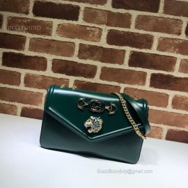 Gucci Rajah Medium Shoulder Bag Green 537241