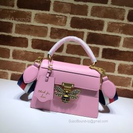 Gucci Queen Margaret Small Top Handle Bag Pink 476541