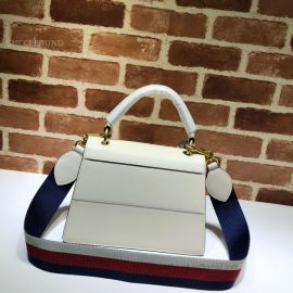 Gucci Queen Margaret Small Top Handle Bag White 476541