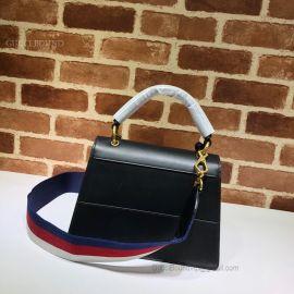 Gucci Queen Margaret Small Top Handle Bag Black 476541