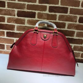 Gucci Re(Belle) Leather Large Top Handle Bag Red 515937