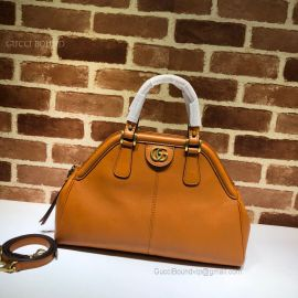 Gucci Re(Belle) Medium Top Handle Bag Brown 516459