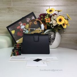 Gucci Dionysus Mini Top Handle Bag Tricolor Black 523367