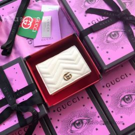 Gucci GG Marmont Card Case White 466492