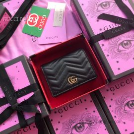 Gucci GG Marmont Card Case Black 466492
