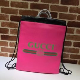 Gucci Coco Capitán Logo Backpack Rosy 494053  Collection