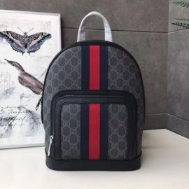 Gucci Small GG Supreme Black Backpack 598102 2020 Collection