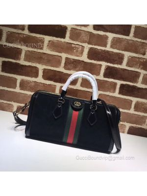 Gucci Ophidia Medium Top Handle Bag Black 524532
