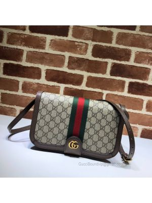 Gucci Ophidia GG Messenger Bag Brown 548304