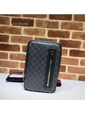 Gucci GG Black belt bag 478325 212027