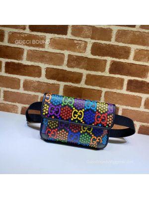 Gucci GG Black belt bag 598113 213009