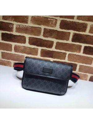 Gucci GG Black belt bag 598113 213010
