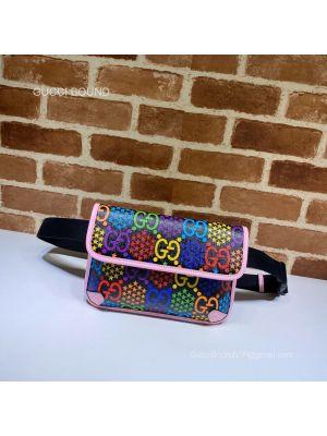 Gucci GG Black belt bag 598113 213011