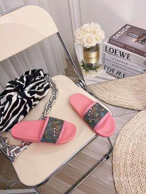 Gucci x Disney GG Donald Duck Slides Sandal Pink 2191312